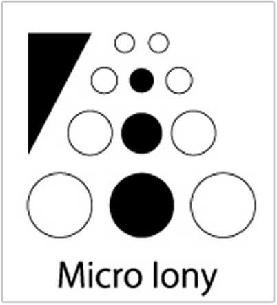 マイクロイオニー機能ロゴ